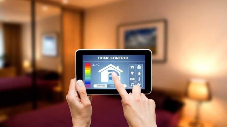 Marvelous Per Tablet oder Smartphone lassen sich im Smart Home die Lampen steuern