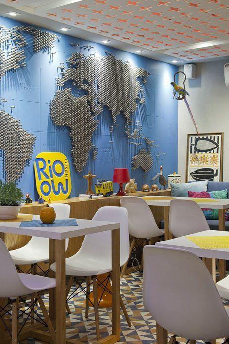 RIOOW Hostel, Rio de Janeiro, 2013 - PKB Arquitetura