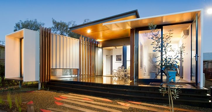 Modern Container Homes Endearing Container Home  Special Homes  Pinterest  Homesteads Ships And . Inspiration Design