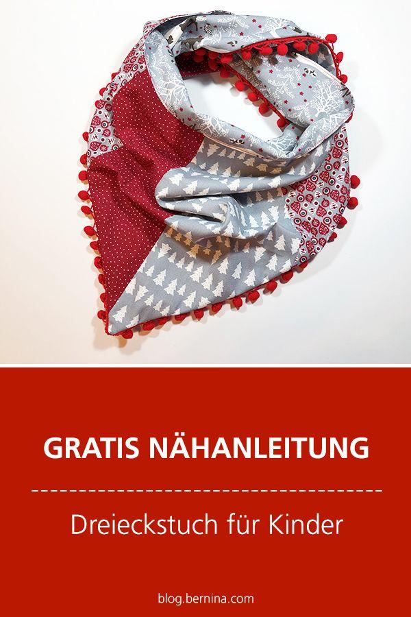 Photo of Kostenlose Nähanleitung: Dreieckstuch für Kinder nähen