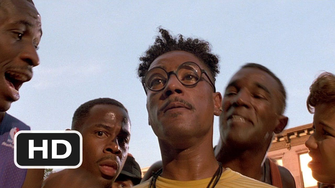 """""""Your Jordans Are F***ed Up!"""" (1989) from """"Do the Right Thing."""""""