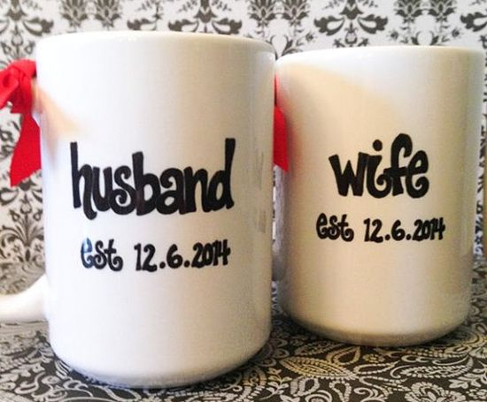 Anniversary gift husband and wife mugs anniversary gift ideas for