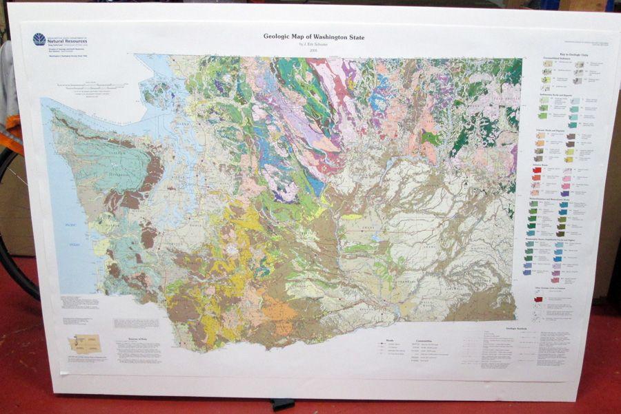 Local map Washington State geologic map httpwwwmetskerscom22731790285