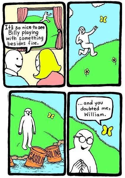 Billy Funny Comic Strips Dark Humor Comics Perry Bible Fellowship