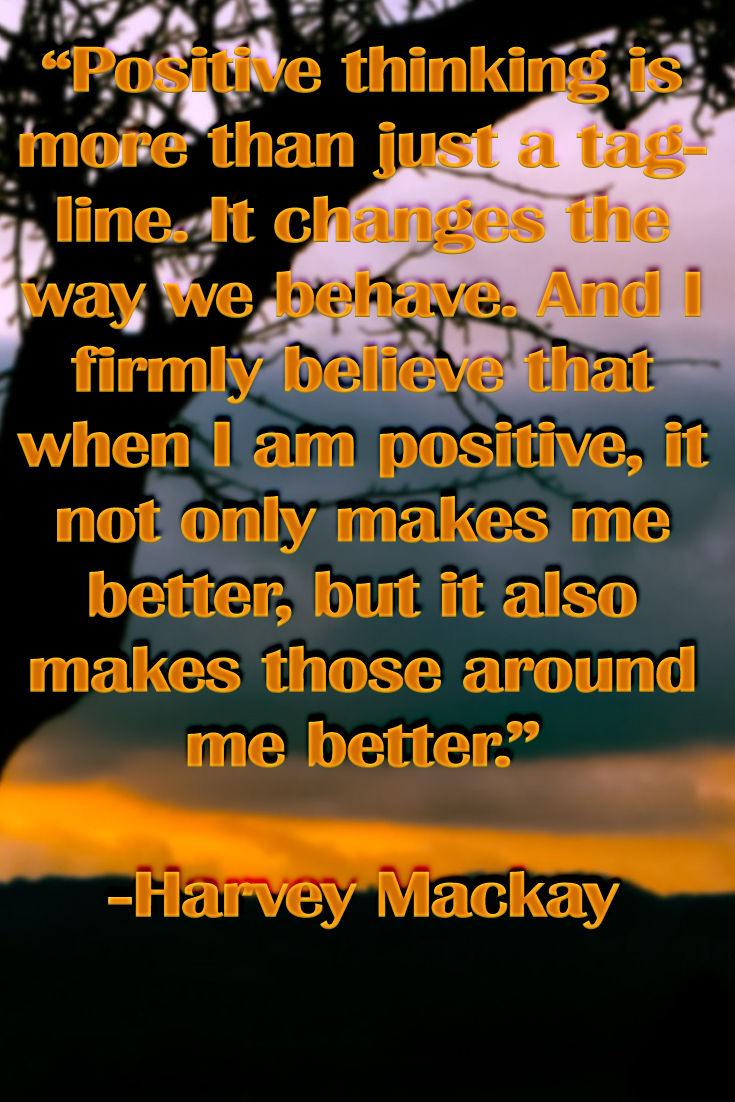 Power Of Positive Thinking Quotes The Power Of Positive Thinking Quote  Inspirational Quotes