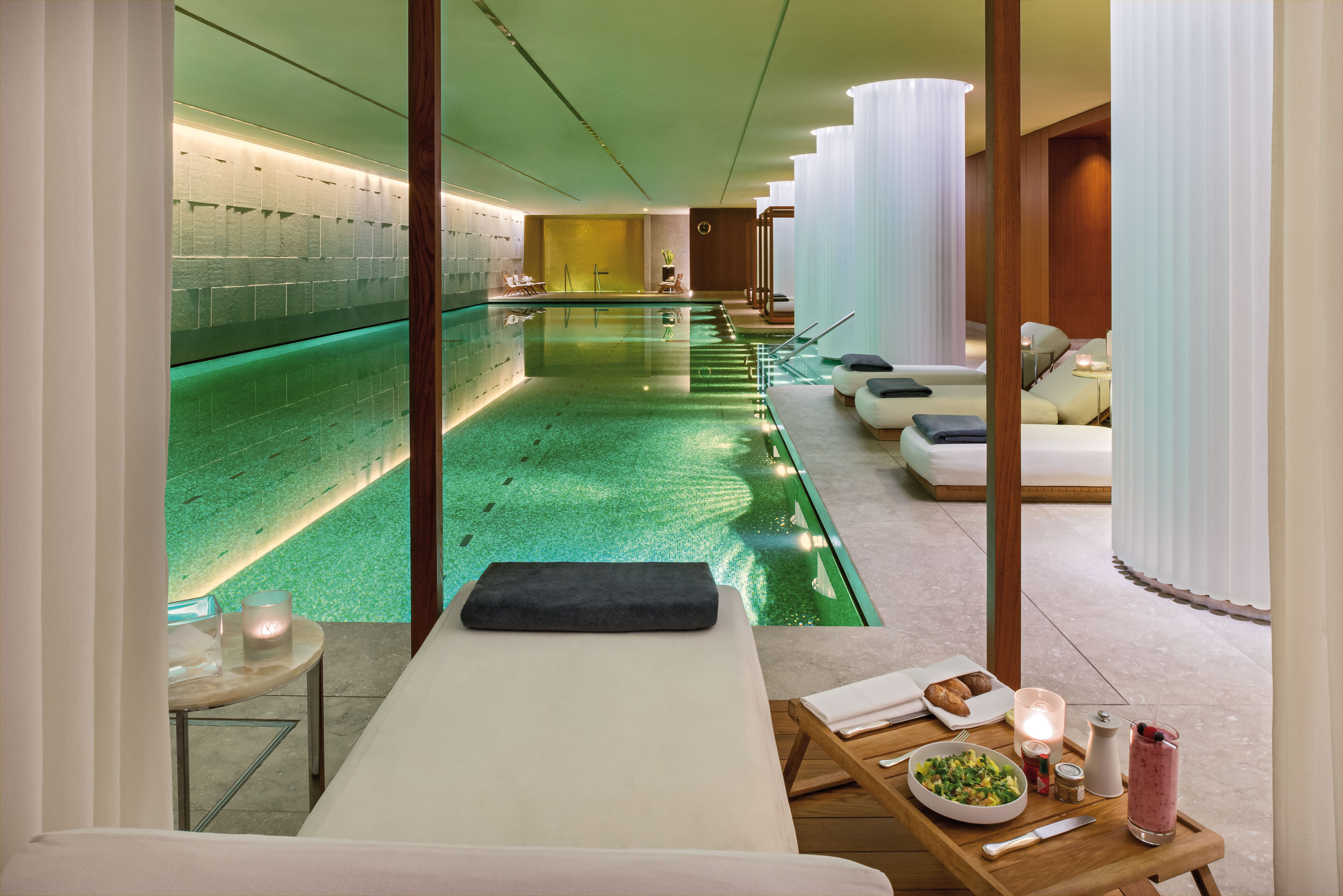 The Perfect Place To Rejuvenate Between Holiday Engagements The Spa Is A Subterranean Jewel Of Serenity In Bustling Spa London Bvlgari Hotel Bulgari Hotel Spa