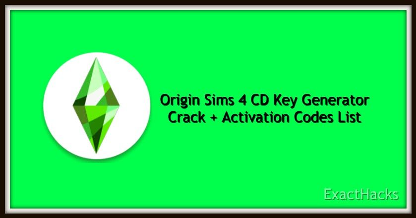 Sims 4 Activation Code Generator 2020 In 2020 Sims 4 Free Sims 4 Sims