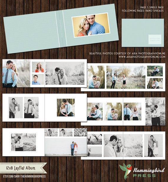 12x8 Millers Lab Layflat Album Template Engagement Album Etsy Wedding Album Layout Wedding Photo Album Layout Wedding Album