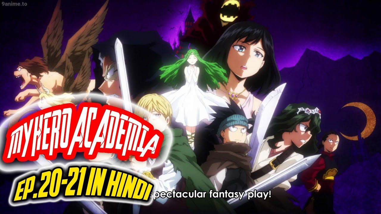 My Hero Academia Season 4 Episode 20 Review In Hindi In 2020 My