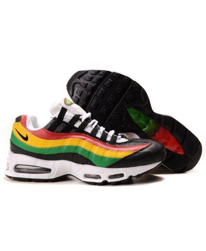 reputable site 37c67 f8c82 ... inexpensive nike air max 95 custom rainbow shoes 421ed 764b1