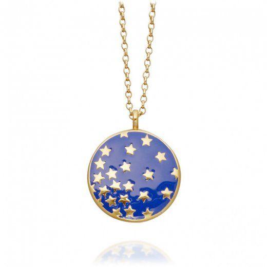Astley clarke star shower large indigo enamel pendant casual astley clarke star shower large indigo enamel pendant mozeypictures Image collections