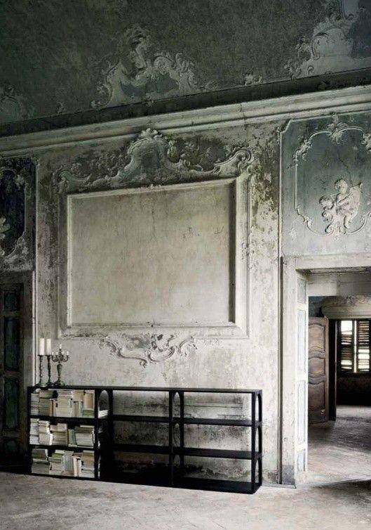 Une gigantesque toile  des murs aux décors de rêve comme des œuvres - Peindre Un Mur Interieur