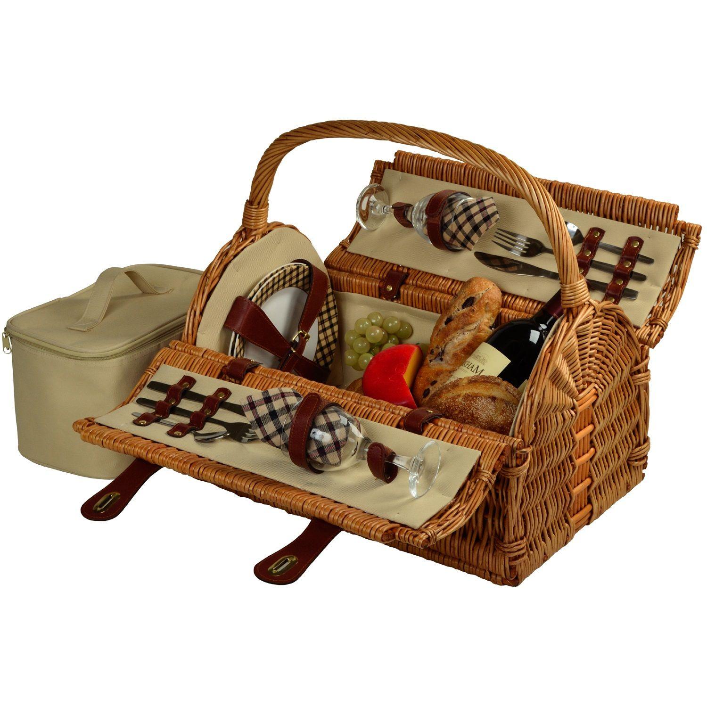 picnic basket Google Search Wicker picnic basket