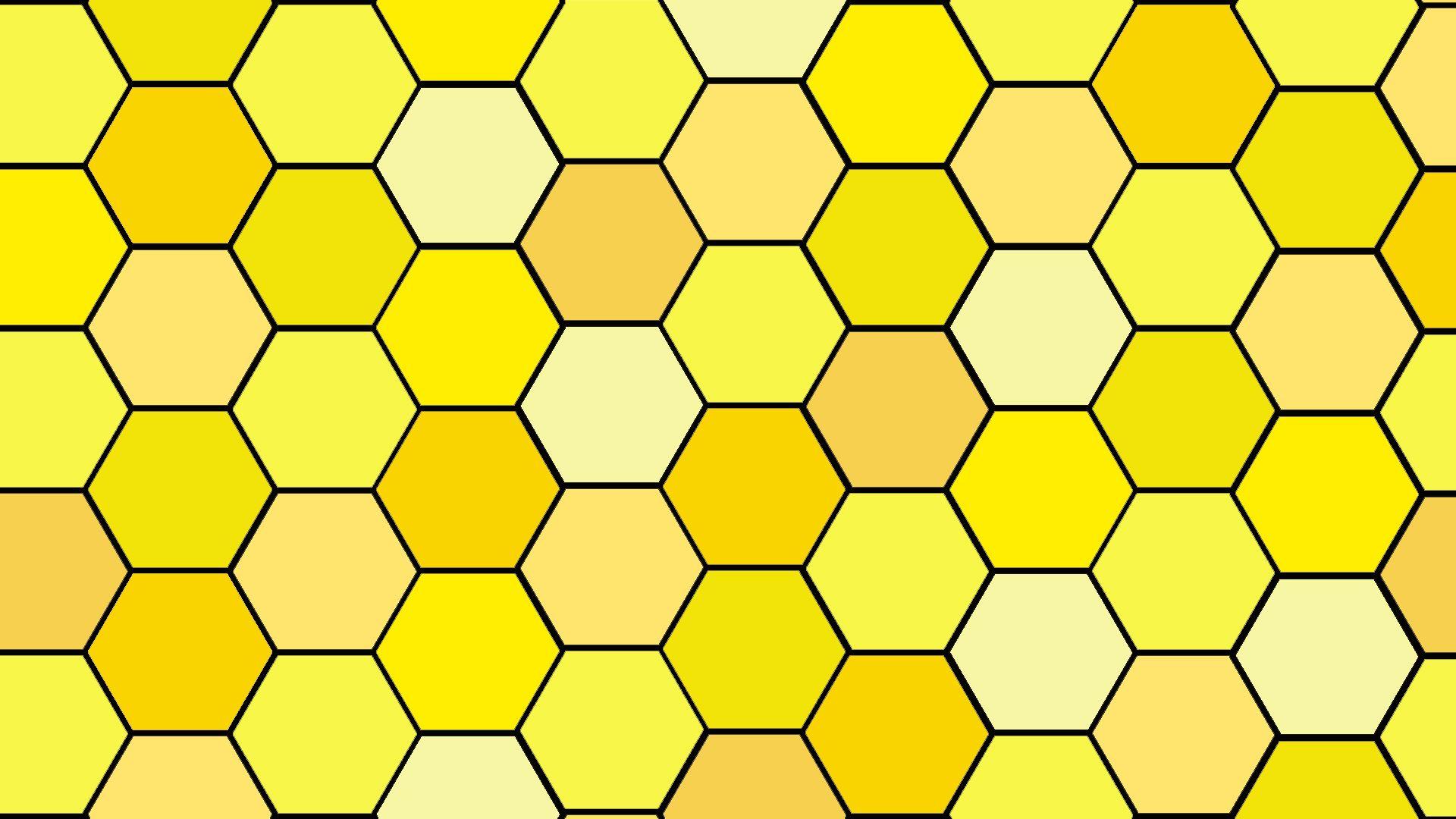 Yellow Honeycomb Desktop Wallpaper Aesthetic Desktop Wallpaper Yellow Wallpaper Wallpaper