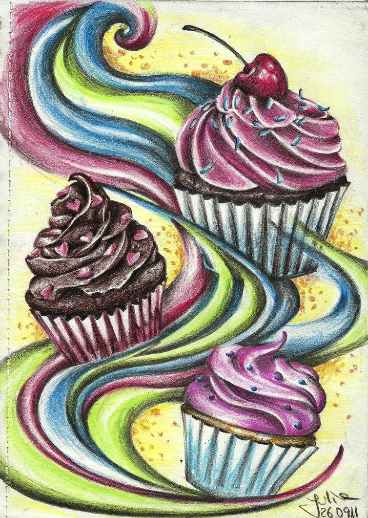 Cupcake dream by JuliaKuchaeva