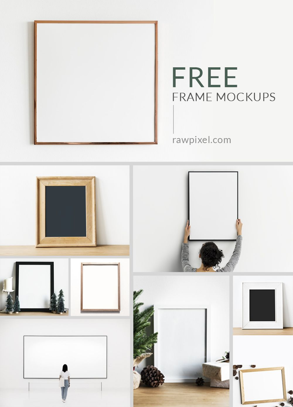 Download Beautiful Free And Premium Royalty Free Frame Mockups As Well As Other Mockups Of Laptops Phones I Frame Mockup Free Print Mockup Free Frame Mockups