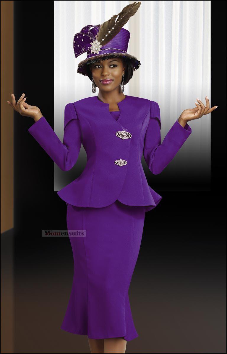 Ladies Purple Dresses and Suits