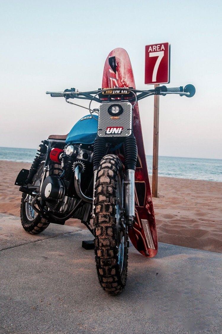 Honda Cl350 Brat By John Thompson Honda Vintage Bikes Motorcycle