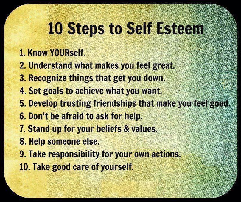 Positive Self Esteem Quotes: Words To Live By...
