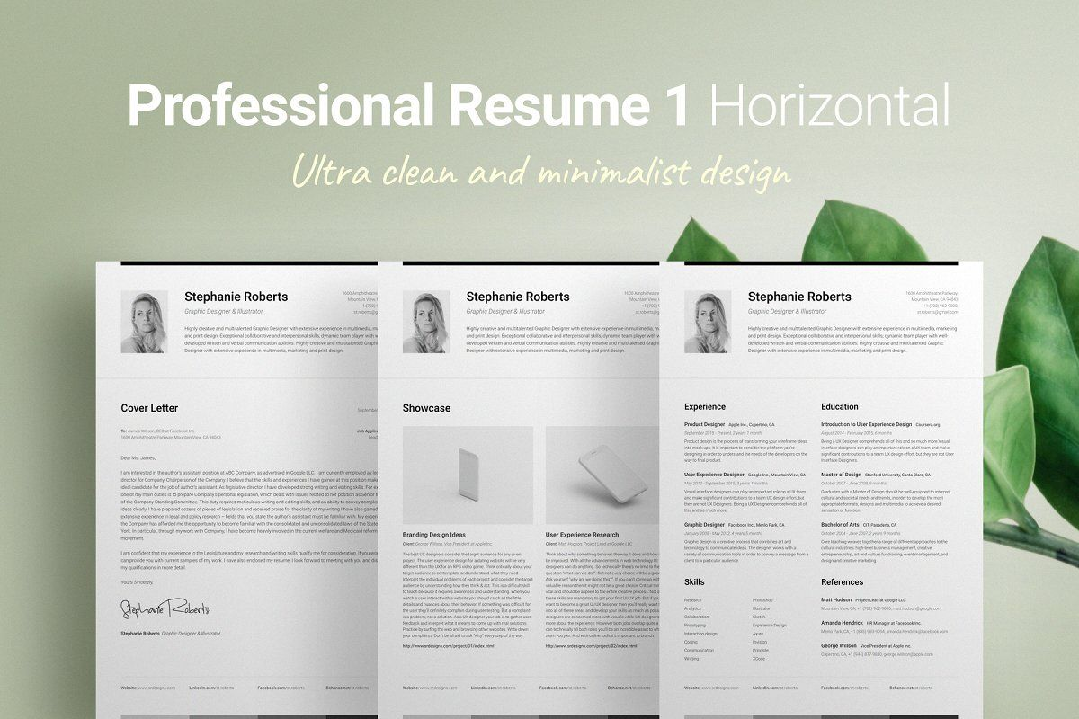 The Pixel Perfect Font in 2020 Resume design