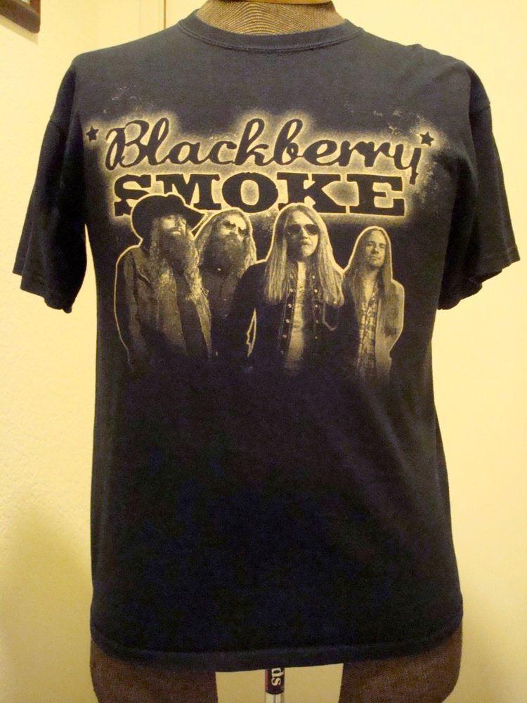 1a44d798 Blackberry Smoke T Shirt - Southern Rock - Med. Black #Gildan #GraphicTee