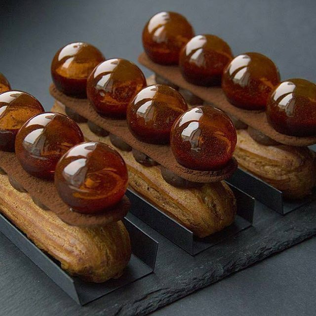 Chocolate Jewels Éclairs