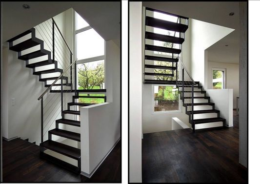 Calcul escalier avec palier recherche google escaliers for Escalier avec palier intermediaire