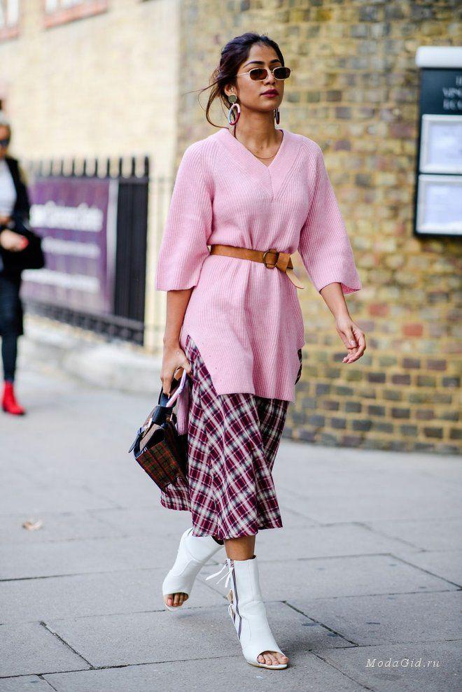 Уличная мода: Неделя моды в Лондоне весна-лето 2019