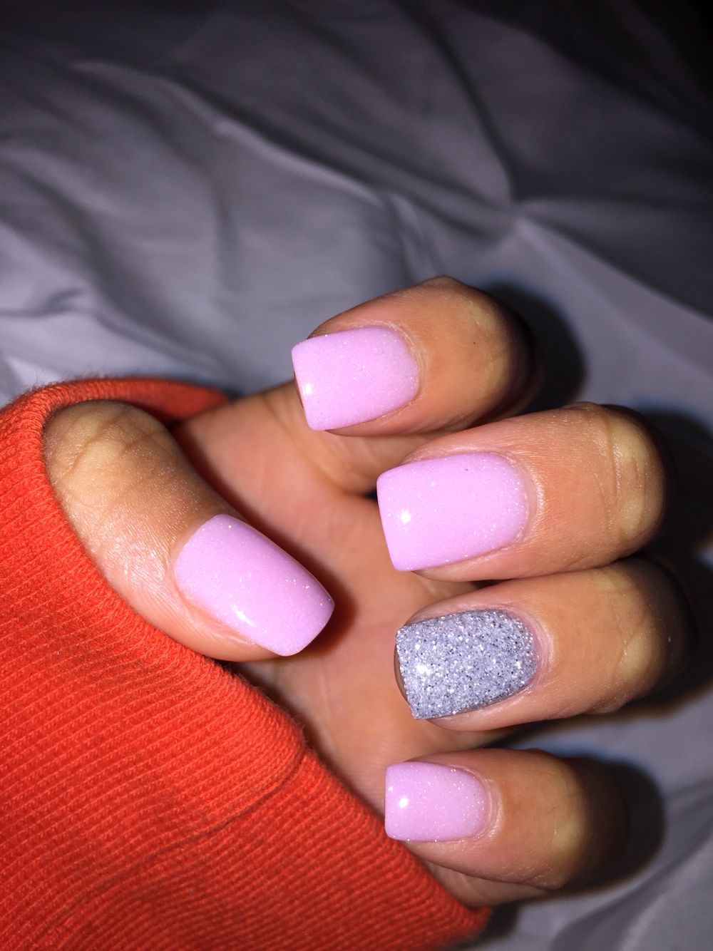 Nexgen Nails French Manicure: Nexgen *Shimmer Pink & Silver Glitter This Might Be How I