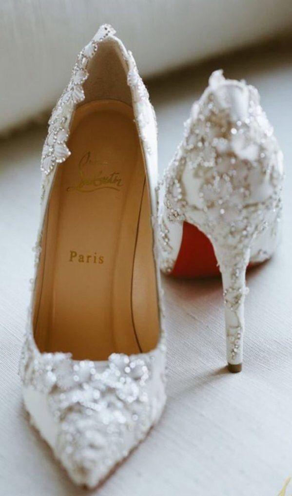 The perfect and most beautiful shoes Vestidos De Novia 36565bd4da78