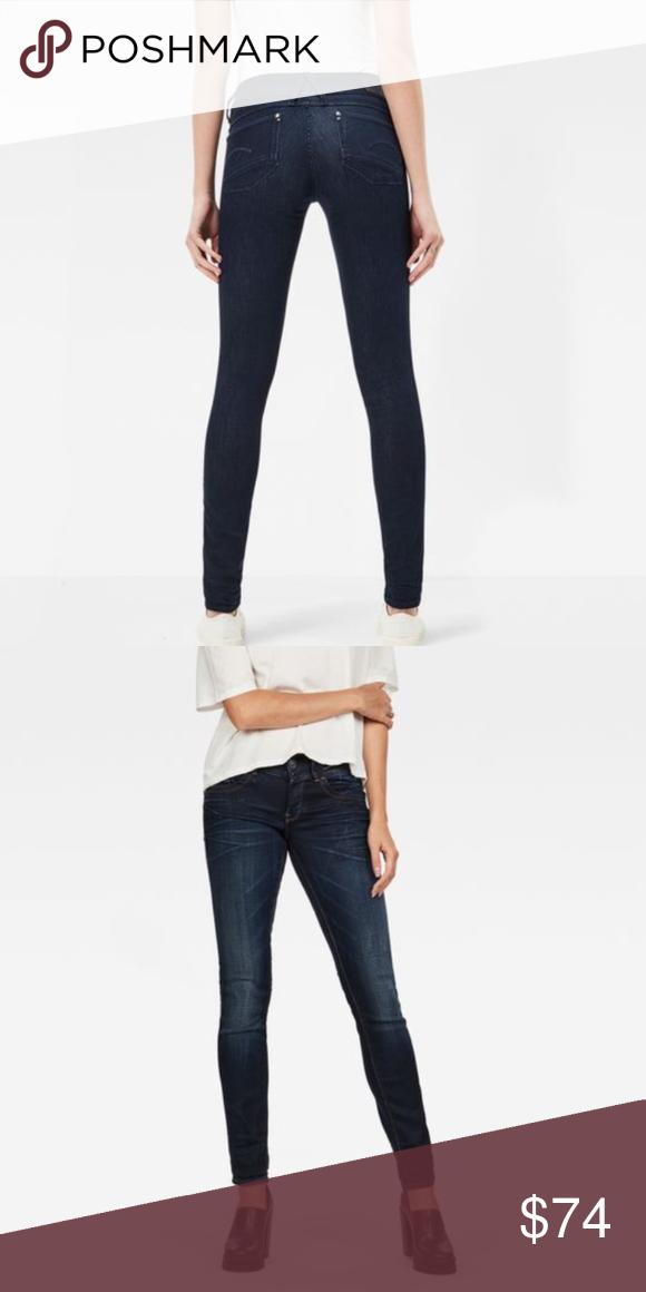 G Star Raw Lynn Mid Skinny Jeans, Mint! G Star Raw Lynn Mid
