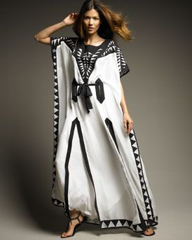 Two tone dress black and white snake