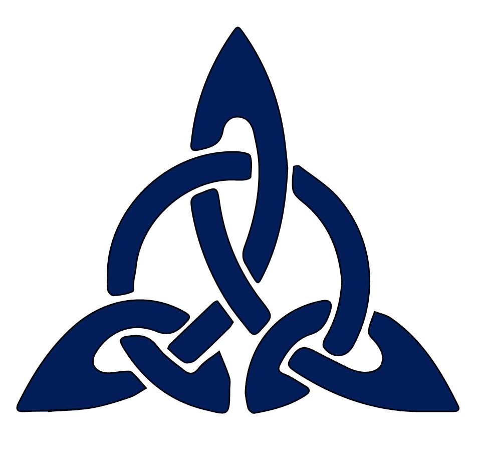 The triquetra as a celtic symbol carvingwood bone glass and the triquetra as a celtic symbol biocorpaavc Images