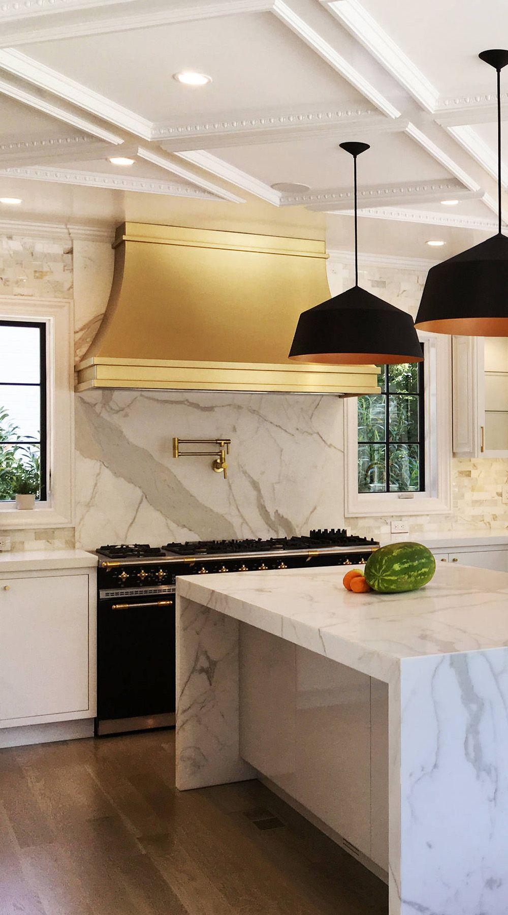 - 31+ ( Luxury ) Calacatta Gold Marble Backsplash & Countertop Ideas