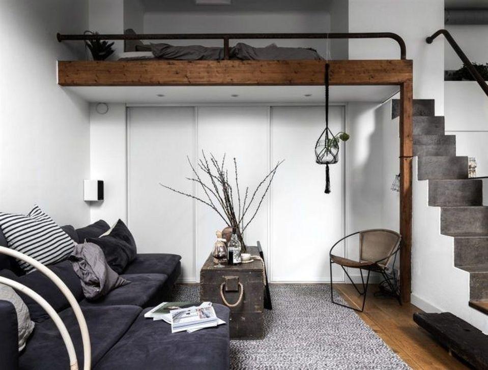 Incredible Apartment Studio Design Decor Ideas41 Decoration