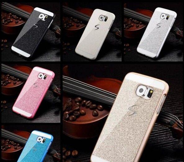 e5ba5ca1135 Cheap Bling Glitter Skin Cases for Samsung Galaxy Note 5 / S6 / S6 Edge /  S6 Edge Plus Cases Cover