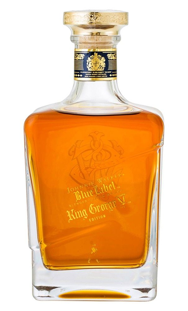 Johnnie Walker Blue Label King George V Scotch Whisky