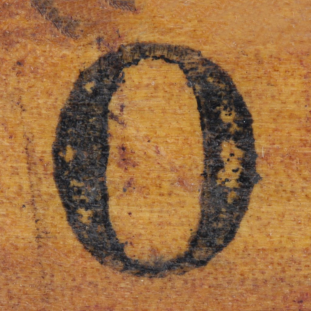 Rubber Stamp Handle Letter O Lettering Stamp Letters