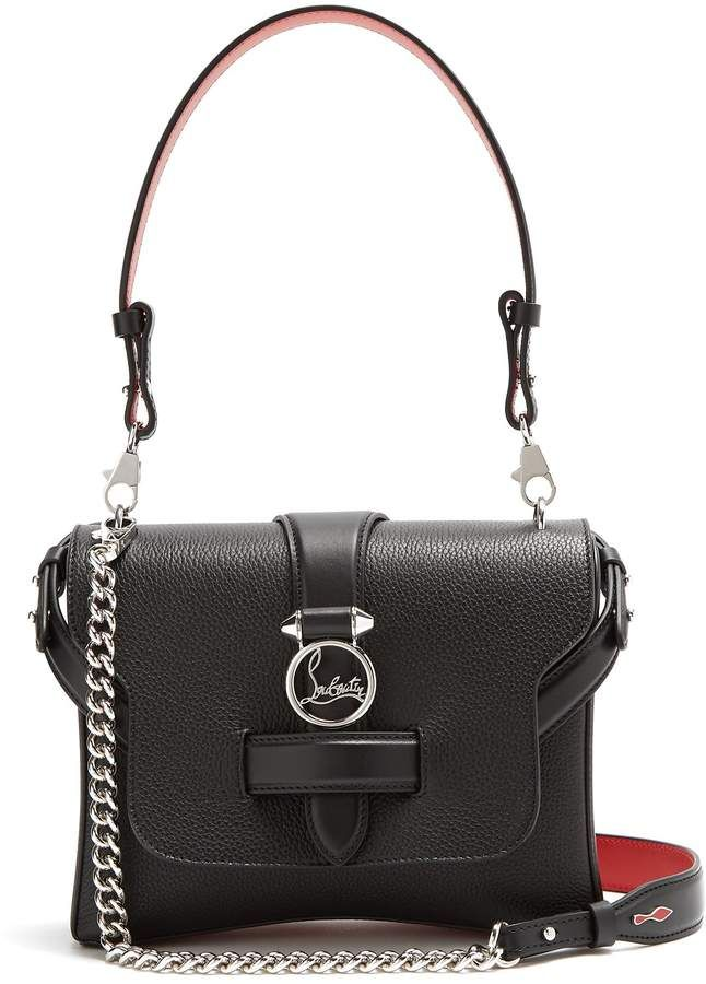 e9d97c40bcd CHRISTIAN LOUBOUTIN Rubylou small leather shoulder bag | Christian ...