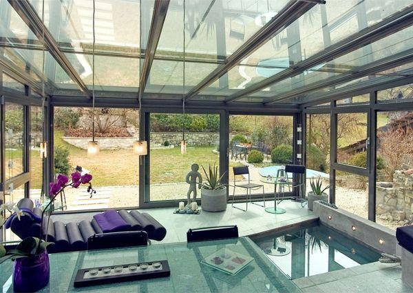 La Veranda En Kit 40 Variantes En Images Veranda Maison D Architecture Balustrade Exterieure