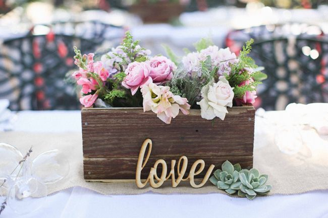 Flower Arrangments Love Letter Diy Wedding CenterpiecesCenterpiece