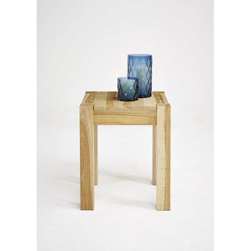 Gracie Oaks Amanda Side Table Side Table With Storage Oak Side Table Wooden Side Table