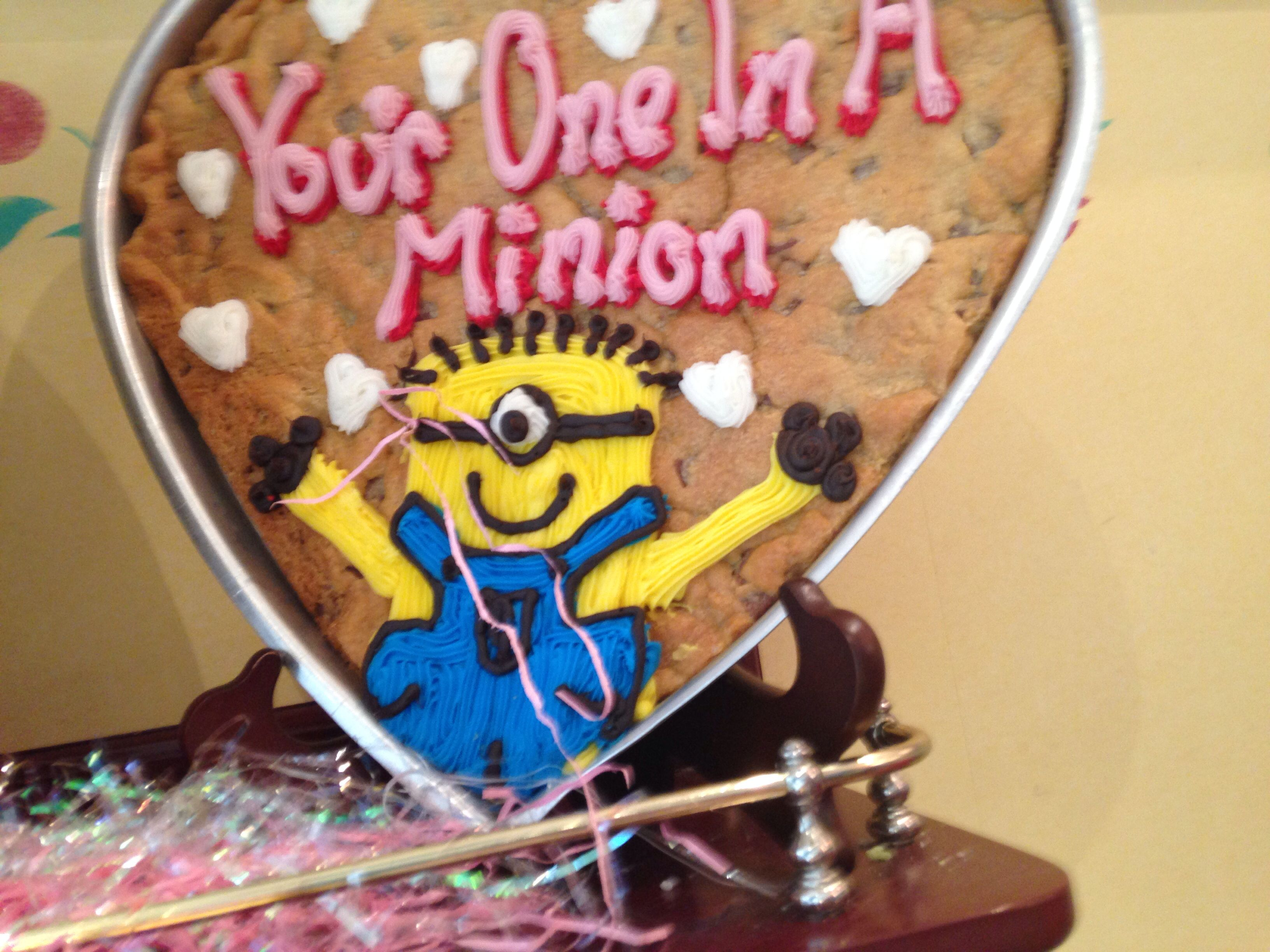 Minion Millies Cookie Deable Birthday