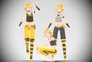 MMD Download] TDA Nero Akita by Supurreme | ss5 | Vocaloid