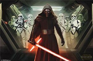Star Wars - The Force Awakens Empire with Kylo Ren, Stormtroopers (and Logo) 22x34 Poster #StarWars Disc: Affilaite Link from The Poster Corp