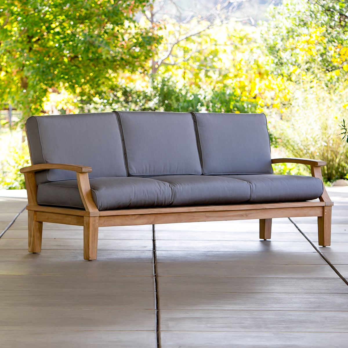 Sofas For Sale! An Outdoor Sofa Turns A Patio Into A Parlor. Modern Sofas  From Our Modern Outdoor Furniture Collection Include Sunbrella Outdoor  Cushions.