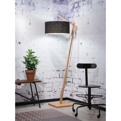 Zarrukh 176cm Reading Floor Lamp Reading Lamp Floor Bamboo Floor Lamp Floor Lamp