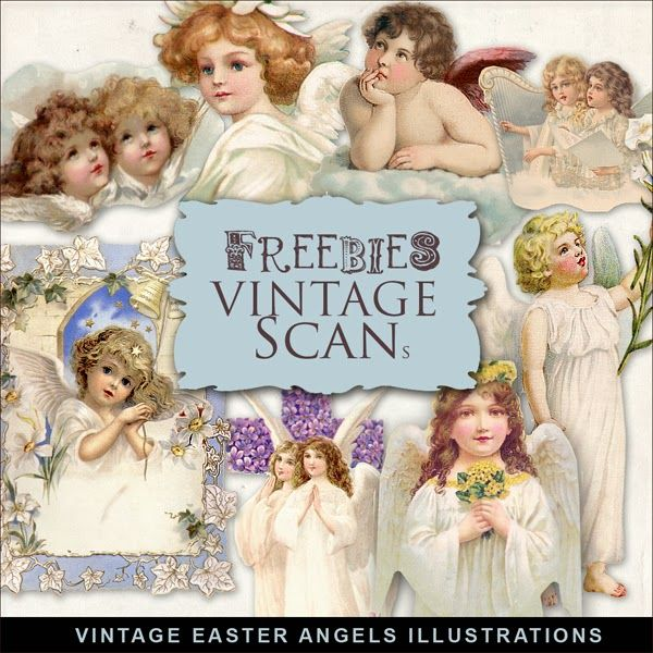 Click  HERE  to download Freebies Vintage Easter Angels  Kit.                                           And           see    My other    ...