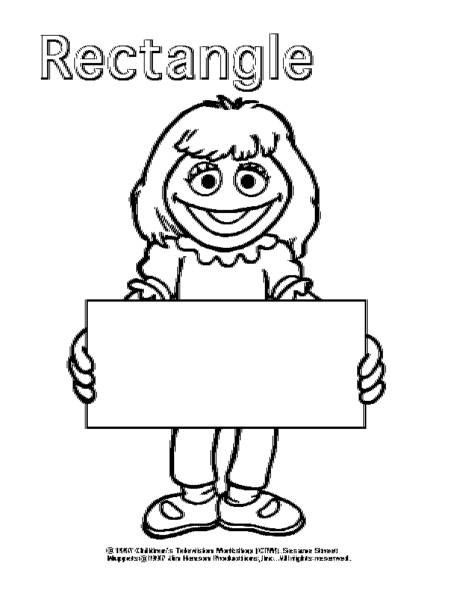 shapes coloring pages for toddlers - Shape Coloring Pages Toddlers