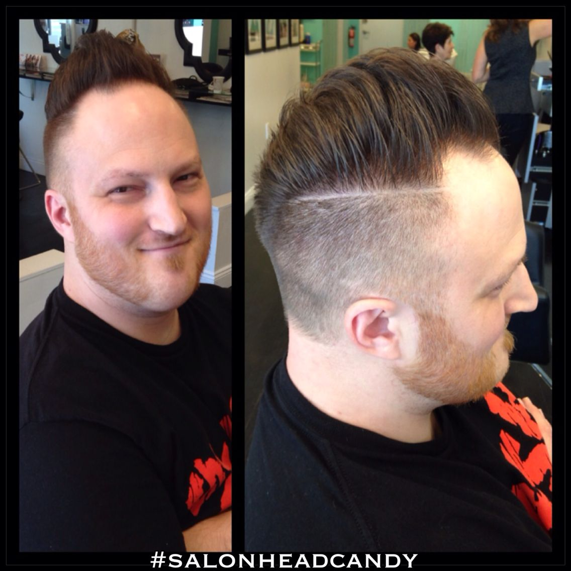Faded Mens Haircut Skin Fade 0 2 Up The Sides To A Hard Part